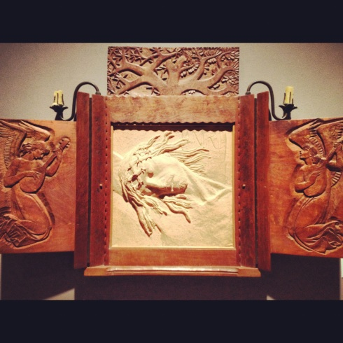 Enrique Alferez, Triptych, Ogden Museum of Southern Art