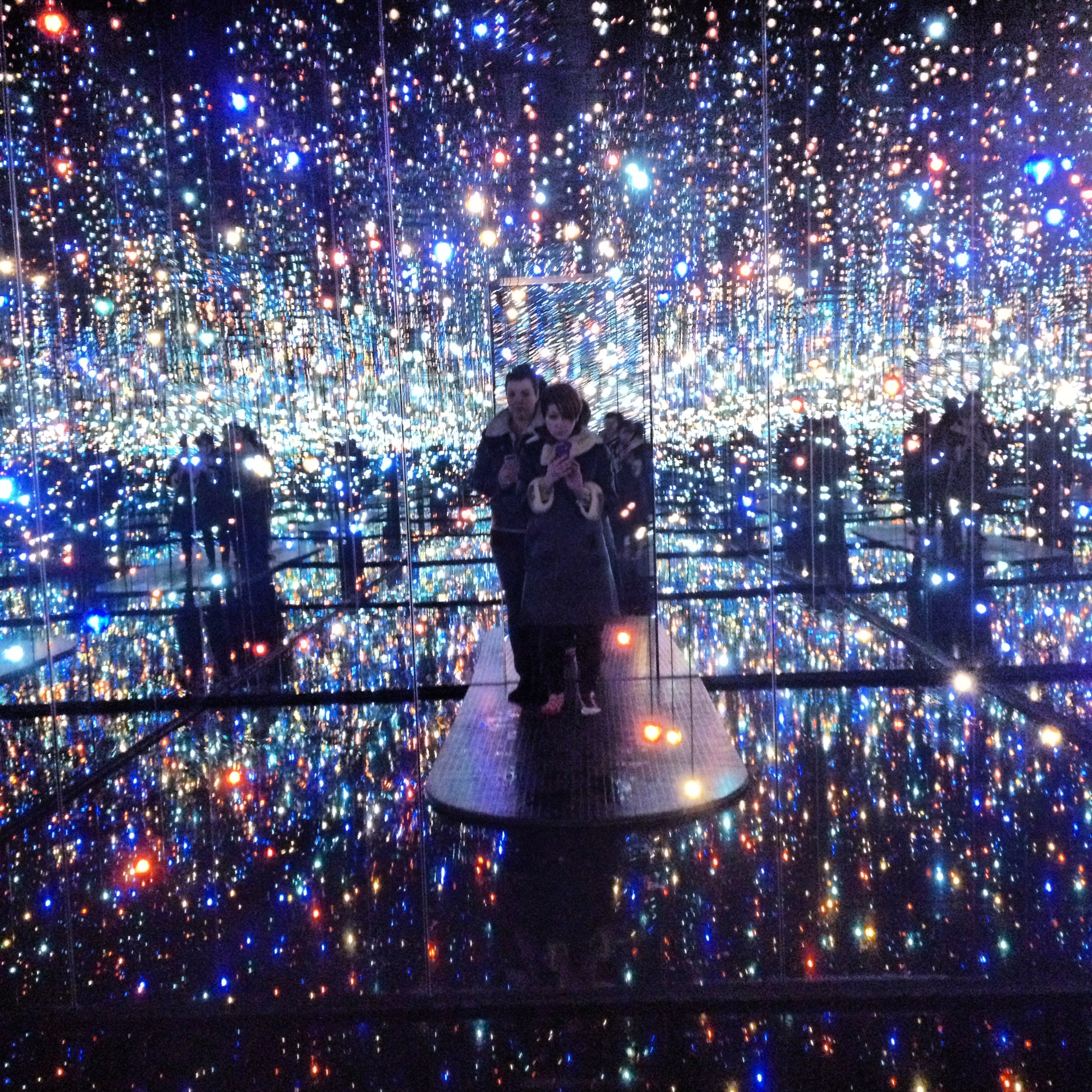 Yayoi Kusama S Infinity Room David Zwirner December 2013 Heather Bryant